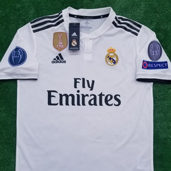 huge discount fccd2 eb419 2018/19 Real Madrid soccer jersey Sergio Ramos NWT